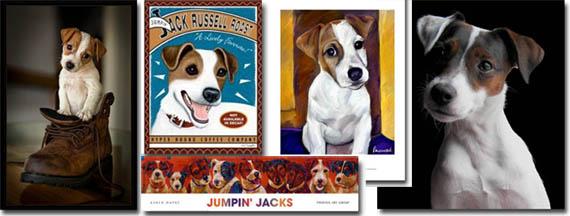 jack russells art