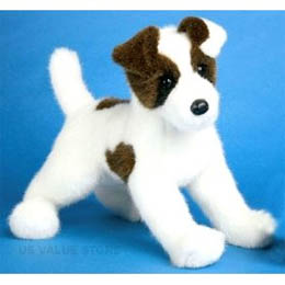Plush And Stuffed Jack Russell Terriers